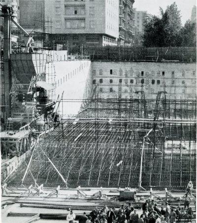costruzione grattacielo Pirelli Milano